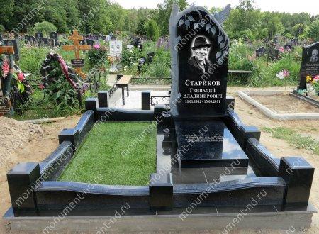 """Мемориальный комплекс Ц-021 """"Под ключ"""" 200х180 см 2"""