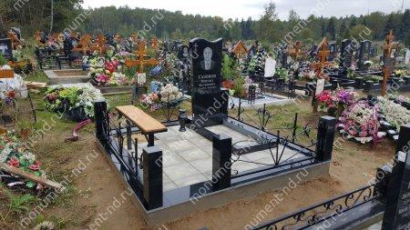 Тротуарная плитка на могилу ТП-08 2