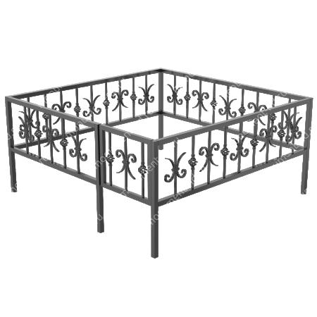 Ограда кованная ОK-35 1