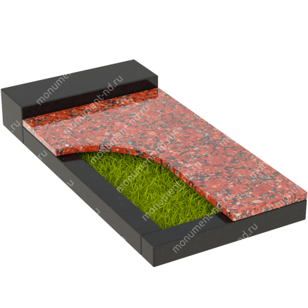 Накладная плита на цветник Цвт-020  5
