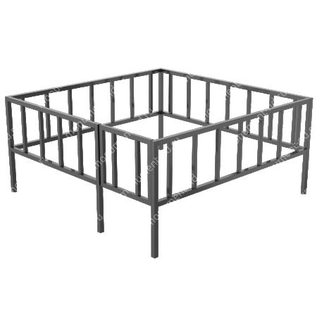 Сварная ограда ОС-006 1
