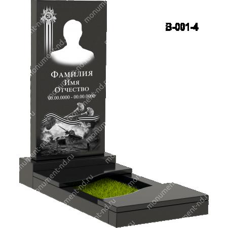 Надгробная плита - 001 4