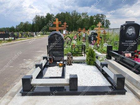 """Мемориальный комплекс НР - 119 """"Под ключ"""" 200х180 см 1"""