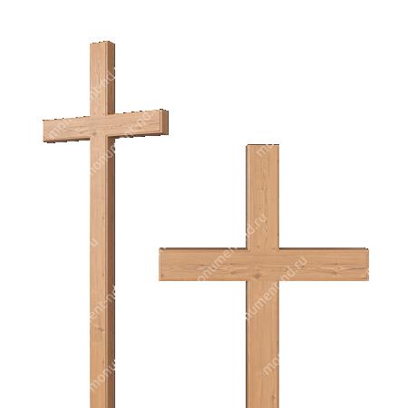 Деревянный крест на могилу ДкС - 003 2