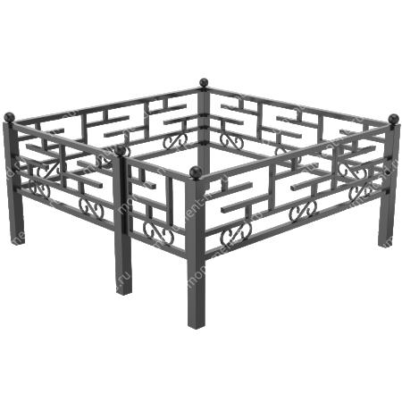 Сварная ограда ОС-017 2