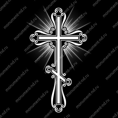 Гравировка Крестика  К-005