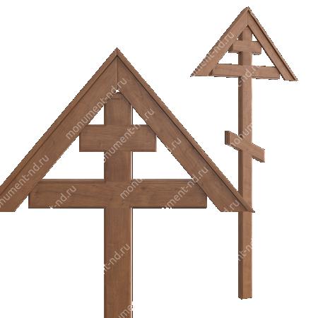 Деревянный крест на могилу ДкД - 002 2