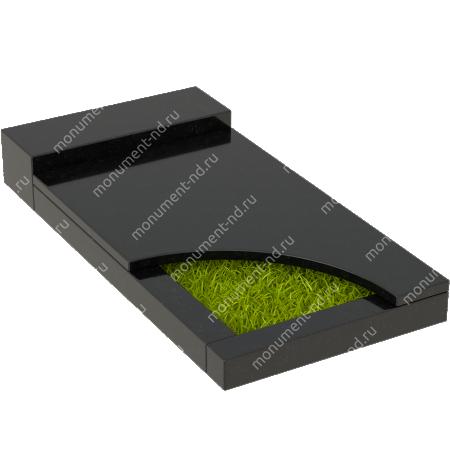 Накладная плита на цветник Цвт-032   5