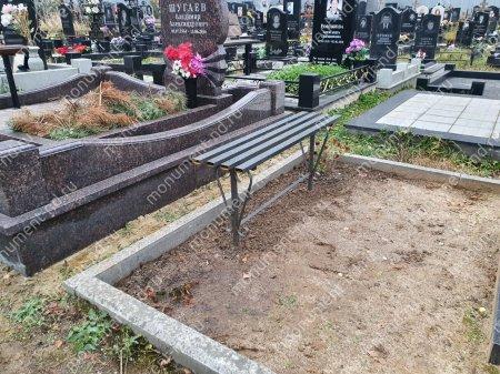 Лавочка  на могилу Л-017 2