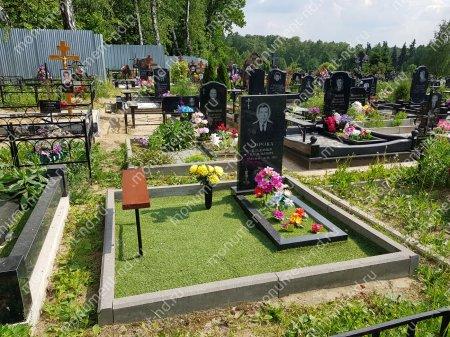 Озеленение на могилу искусственное 4
