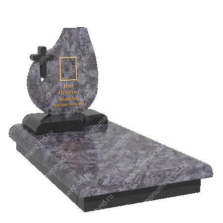 Памятник из цветного гранита - 025 2