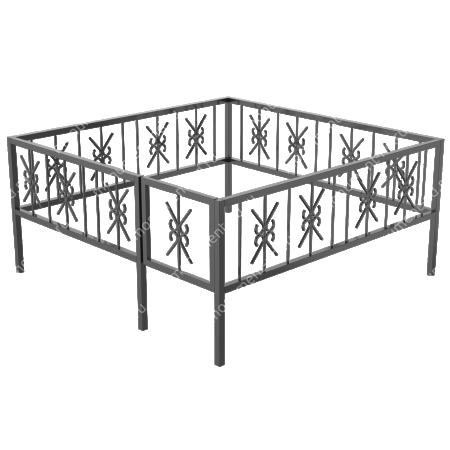 Ограда сварная ОС - 004 1