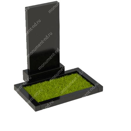 Цветник на могилу из гранита Цвт-200  1