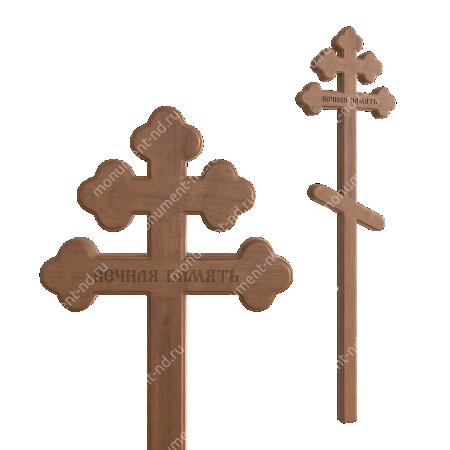 Деревянный крест на могилу ДкД - 005 2