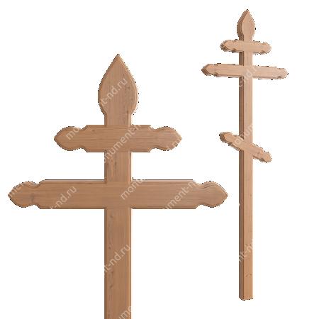 Деревянный крест на могилу ДкС - 012 2