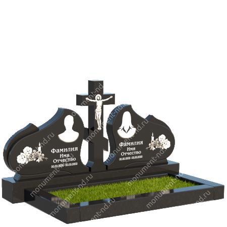 Двойной памятник Д-30 1