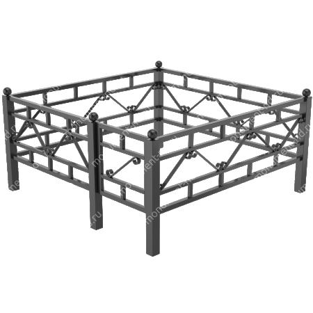 Сварная ограда ОС-002 2