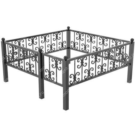 Ограда кованная ОK-40 2
