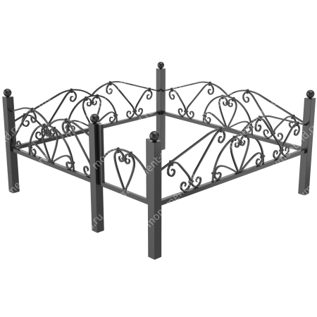 Ограда кованная ОК 15 2