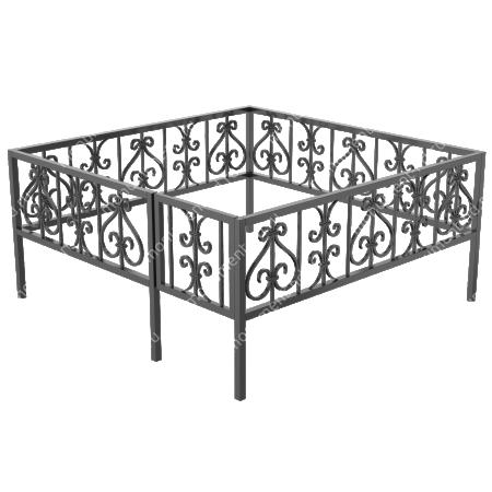 Ограда кованная ОК-32 1