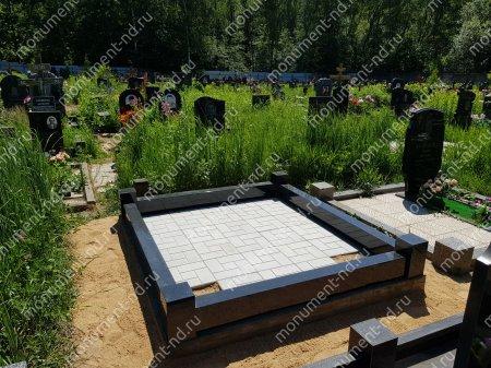Тротуарная плитка на могилу ТП-09 5
