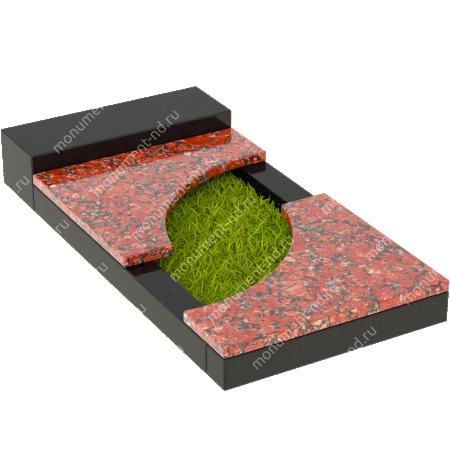 Накладная плита на цветник Цвт-021  4