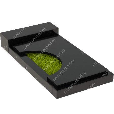 Накладная плита на цветник Цвт-013  4