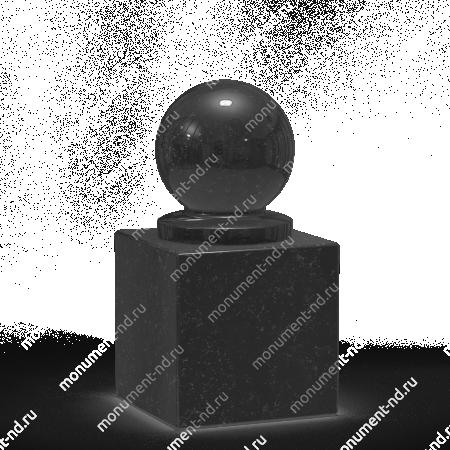 Шар из гранита Ш-007 1