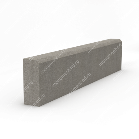 Бордюр на могилу Б-001 Размер:21х100х7 см 1