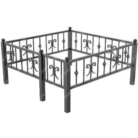 Металлическая ограда - 01