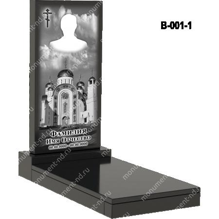 Надгробная плита - 001 2