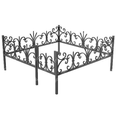 Ограда кованная ОК-6 1