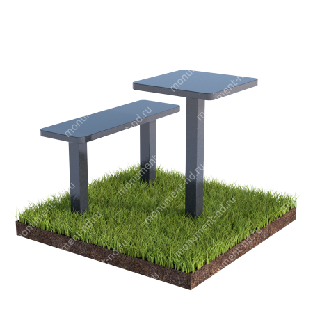 Столик  из гранита на могилу Л-016 1