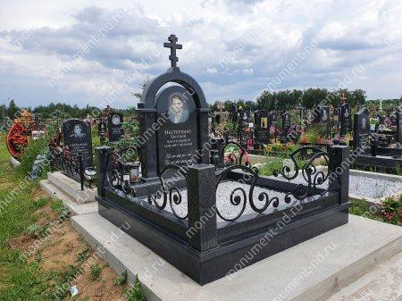 """Мемориальный комплекс Ц - 055 """"Под ключ"""" 200х180 см 4"""