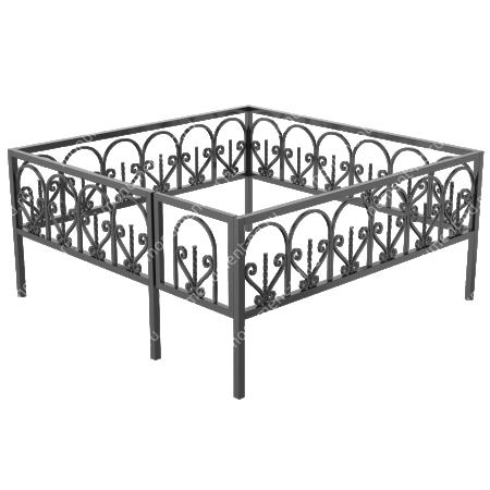 Ограда кованная ОK-43 1