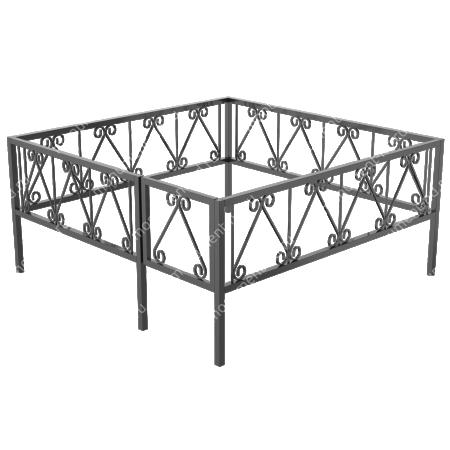 Сварная ограда ОС-014 1