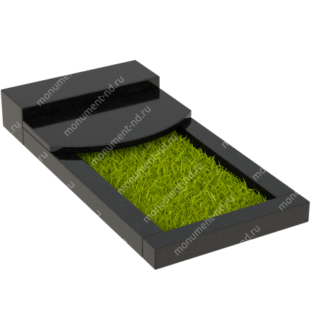 Накладная плита на цветник Цвт-007  5