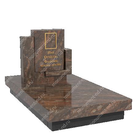 Памятник из цветного гранита - 024 2