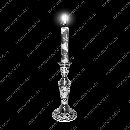 Гравировка свечи С-020