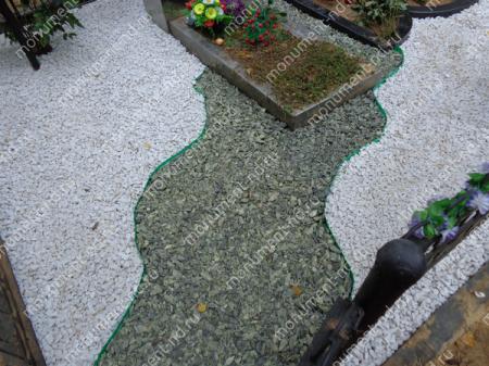 Змеевик на могилу 50 кг. 3