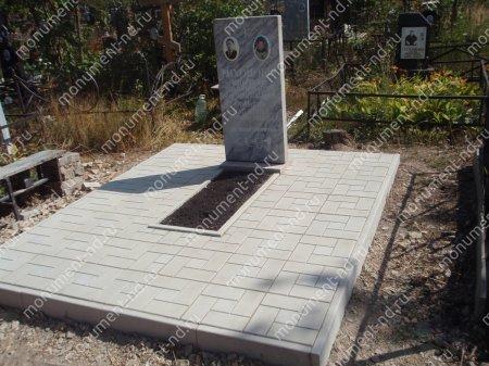 Тротуарная плитка на могилу ТП-05 2