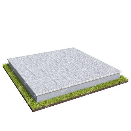 Тротуарная плитка на могилу ТП-06 2