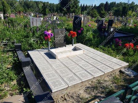 Тротуарная плитка на могилу ТП-09 4
