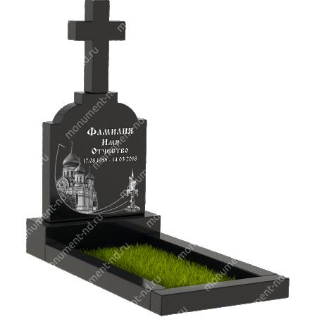 Памятник с крестом K-002 1