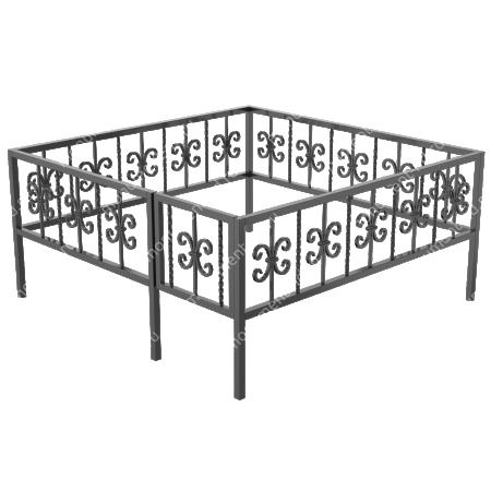 Ограда кованная ОК-31 1