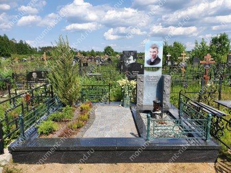 """Мемориальный комплекс НР - 133 """"Под ключ"""" 200х180 см 1"""