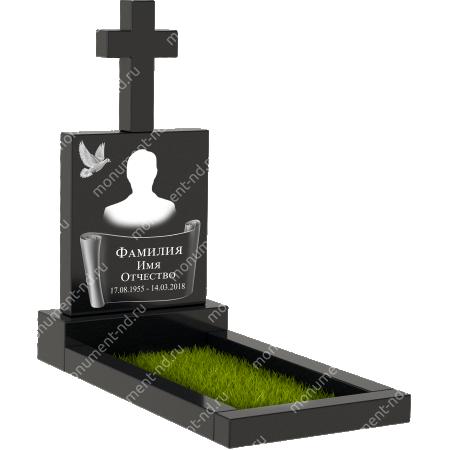 Памятник с крестом К-001