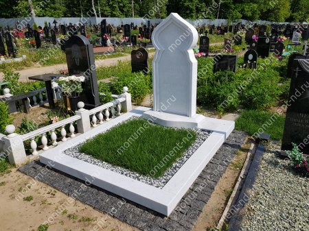 Озеленение на могилу натуральное 5