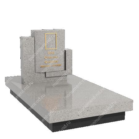 Памятник из цветного гранита - 024 4