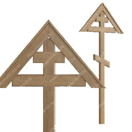 Деревянный крест на могилу ДкД - 002 1